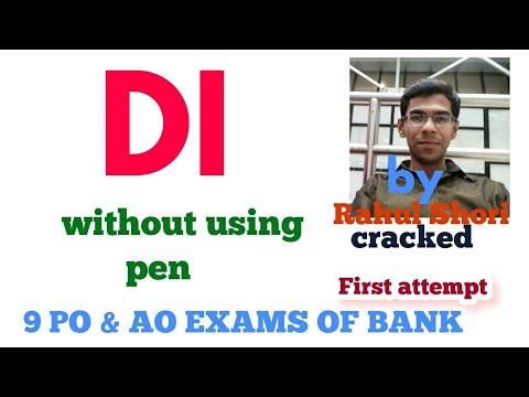 Data interpretation  Part-1 for Bank PO|| Clerk || AO