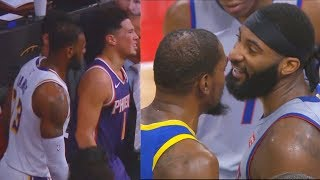 LeBron James Tries To Get Devin Booker On Lakers & Kevin Durant Tries To Join Pistons (Parody)