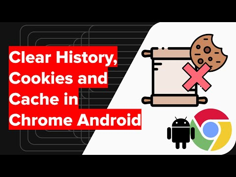 How to Clear Chrome Android History, Cookies, and Cache Data? 1