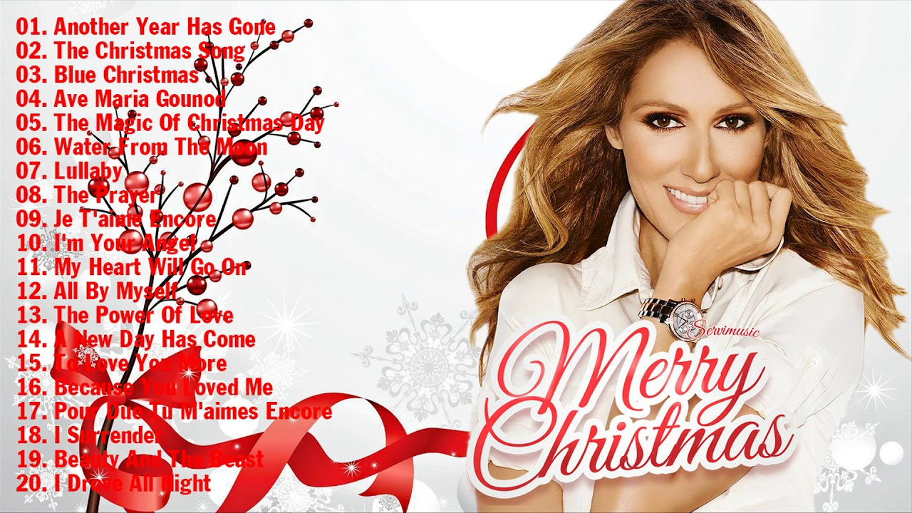 Celine Dion Best Christmas Songs 2018 - Celine Dion Merry Christmas ...