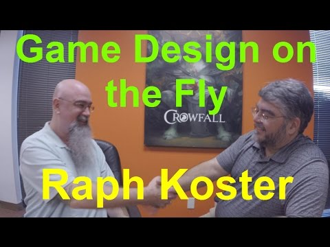 Watch Raph Koster Design a Game on the Fly