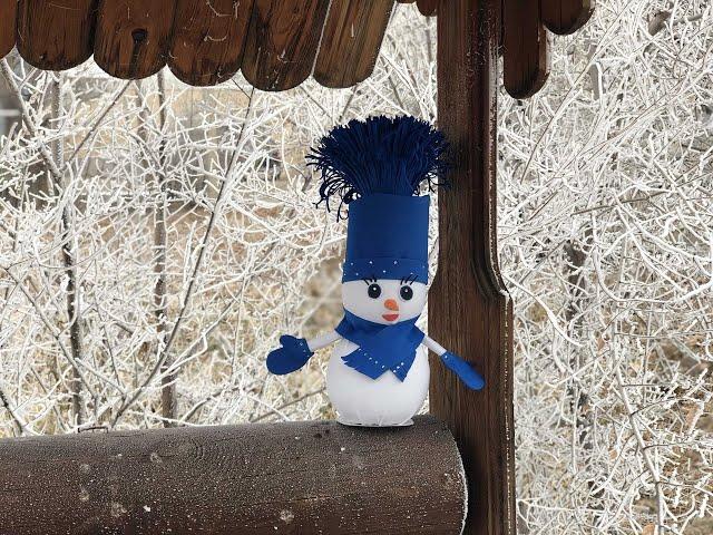 Онлайн мастер-класс «Изготовление снеговиков»