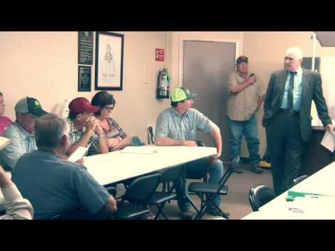 6-7-16 Haskell County Commissioners meeting