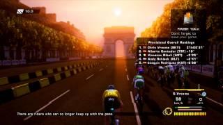 Le Tour De France 2013 100th Edition video game - final stage