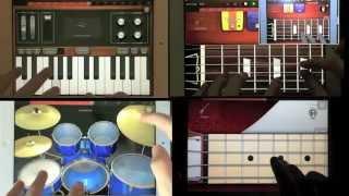 "Bon Jovi - ""Livin' on a Prayer"" with iPad"