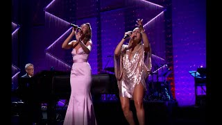 Tell Him - Loren Allred and Pia Toscano LIVE with David Foster