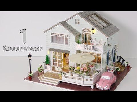 DIY Miniature House Kit * New Zealand Queenstown * 뉴질랜드 퀸스타운 미니어처 하우스 * ミニチュアハウス * 新西兰皇后镇
