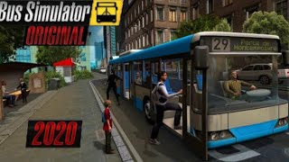 How to Download Bus Simulator Original 2020 For Android EASY screenshot 5