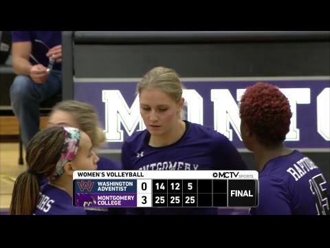 MC Raptors Volleyball vs Washington Adventist University Shock