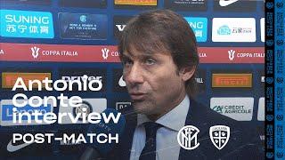 INTER 4-1 CAGLIARI | ANTONIO CONTE EXCLUSIVE INTERVIEW: