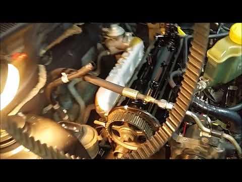 Фото к видео: cambio correa distribucion ford escort 1.8 td motor endura