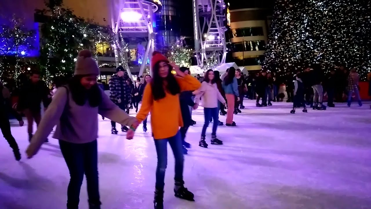 Spent a lovely pre New Years Eve at LA Live and the ...