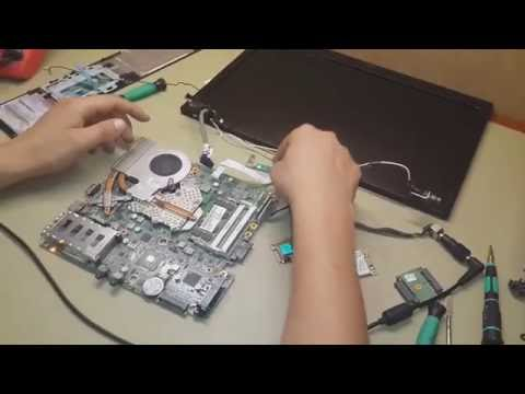Диагностика ноутбука HP 4515S. Типовая неисправность