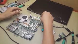 видео HP ProBook 4530s ремонт и восстановление