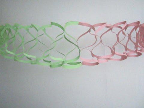 как сделать гирлянду оригами на новый год смотреть в хорошем качестве