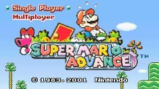 Game Boy Advance Longplay [016] Super Mario Advance