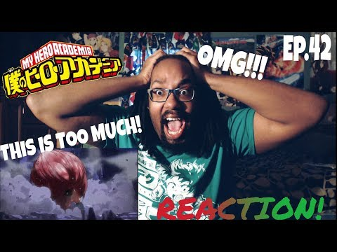 IM SHAKING WITH TEARS AND EXCITEMENT! MY HERO ACADEMIA EPISODE 42 REACTION