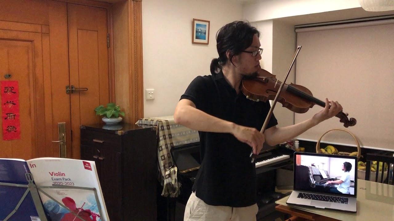 ABRSM 2020-2023 Violin Initial Grade - B2 Performance [Silent Friends]