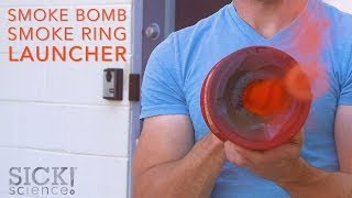 Smoke Bomb Smoke Ring Launcher - Sick Science! #197