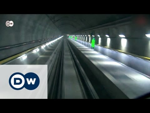The Gotthard Base Tunnel in Switzerland   Made in Germany
