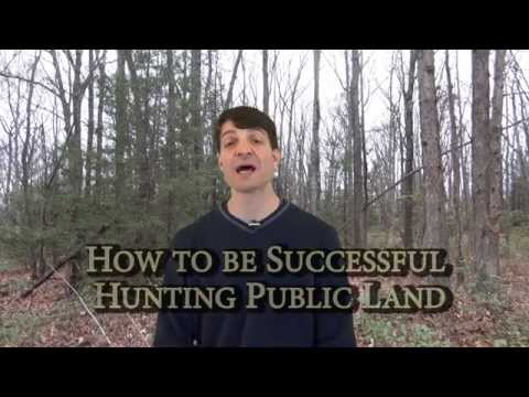 How To Be Successful Hunting Public Land