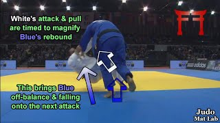 Combinations: Attacking the Rebound - Judo Mat Lab