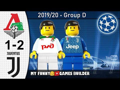 Lokomotiv Moscow vs Juventus 1-2 • Champions League (06/11/2019) All Goals Highlights LEGO Football - 동영상
