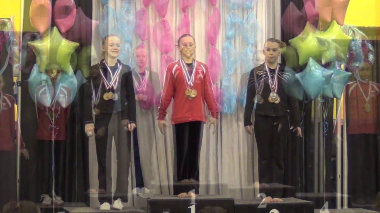 Winwin gymnastics - Gabrielle Aguilar Win Win Gymnastics Region 7 Level 8 Aa Champion 38 450