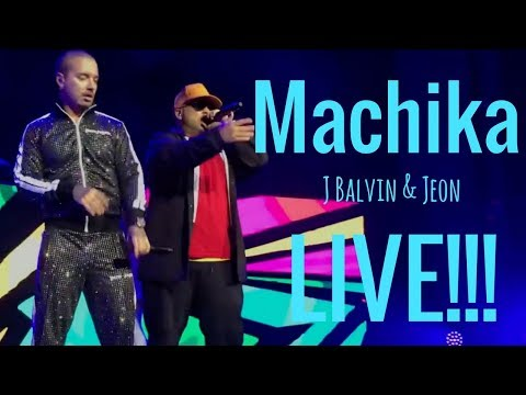 Machika - J Balvin Live in Concierto!!!!