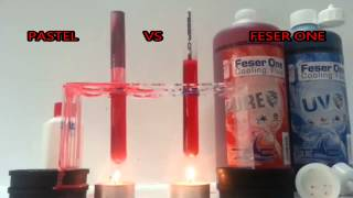 TFC Feser-one VS Pastel  Feser-one always stays cool- we dont jump away from heat