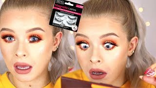 TESTING *MAGNETIC* EYELASHES?! | sophdoesnails