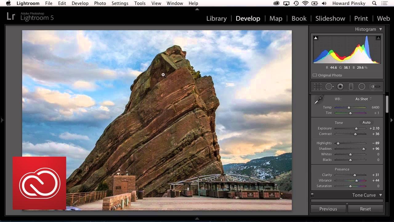 adobe cc photography workflow