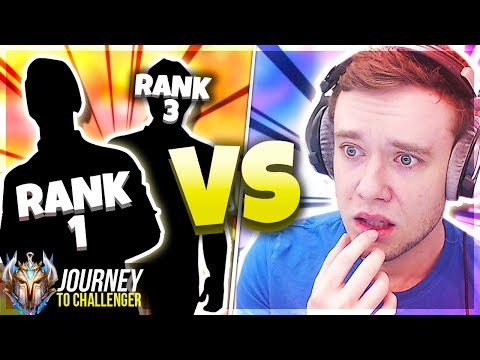 WTF? I&39;M VS THE RANK 1 PLAYER ALREADY???? - Journey To Challenger  LoL