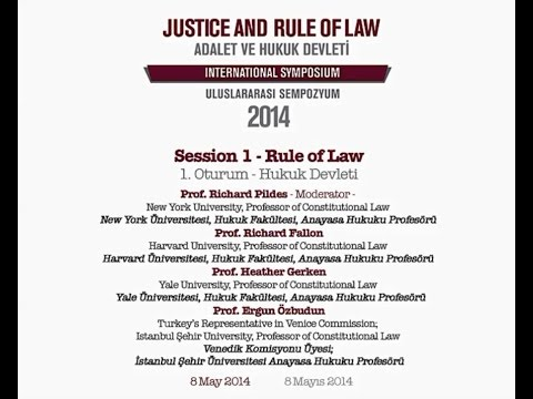 Session 1 - Rule of Law