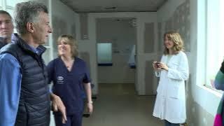 Recorrida por las obras de remodelación del Hospital Luciano Fortabat de Olavarría