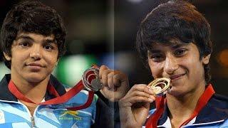 Sakshi Malik and Vinesh Phogat qualify for Rio Olympics  Oneindia News