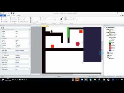 Construct 2 - Platformer Eecaperoom