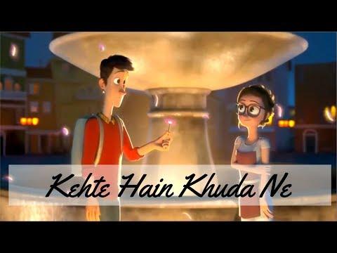 Khte Hai khuda Ne || Heart Touching || Romantic Animation Love Story || Yaari Dosti