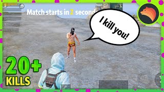 He Challenged Me 😱 | PUBG MOBILE