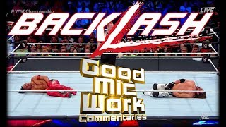 WWE Backlash 2018 LIVE REVIEW
