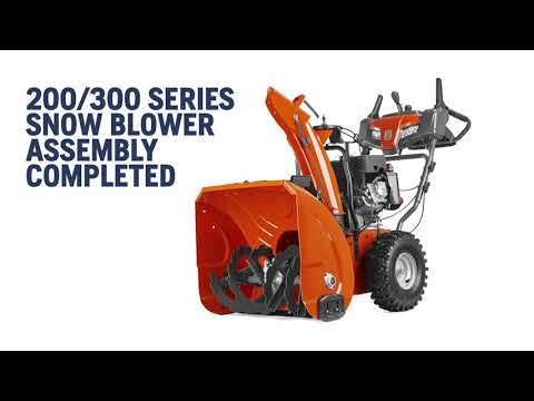 How To Unbox And Set Up A Husqvarna Snow Blower