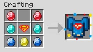 Minecraft UHC but you can craft SUPERHERO armor...