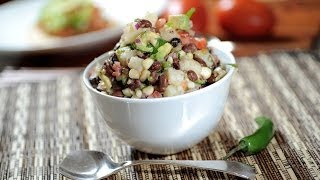 Ensalada De Frijoles Con Papas - Recetas De Ensaladas - Bean And Potato Salad
