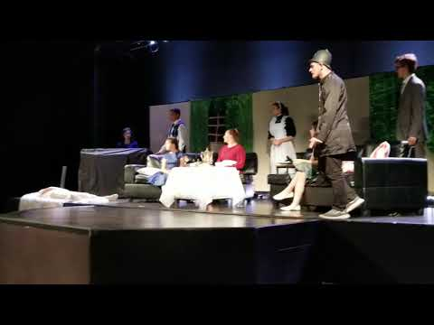 "Champion preparatory Academy theater class presents ""Mayhem at mystery theater""  act 1 of 3"
