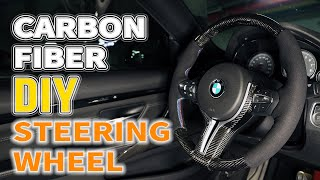 How to Make a Carbon Fiber Steering Wheel with Epoxy Resin [DIY]
