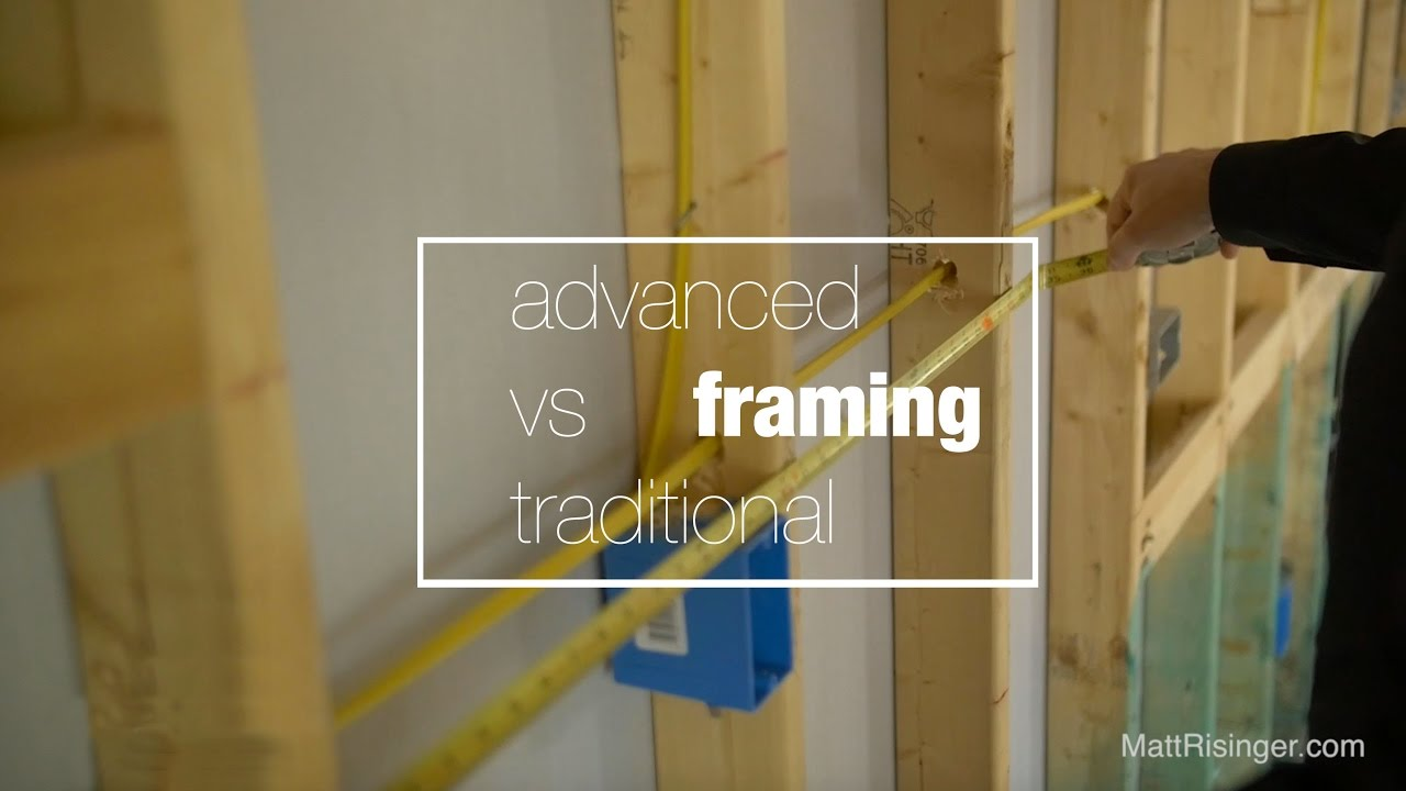 traditional vs advanced framing youtube