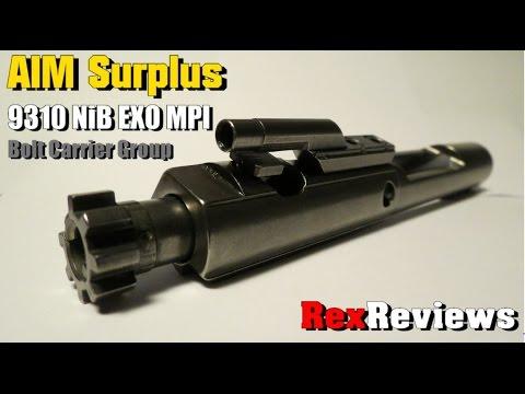 AIM Surplus AR-15 Bolt Carrier Group ~ FAIL ~ (9310 NiB EXO MPI)  ~ Rex Reviews