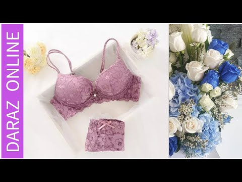 df919c38aa21 Sexy Bra Pantry Set 02 Daraz Online - YouTube