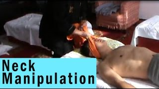 Chinese Chiropractic manipulation - Good BACK CRACKS!