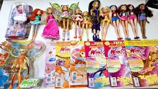 МОИ НОВЫЕ ВЕЩИ КЛУБ ВИНКС Winx Club Куклы Книги Игрушки Обзоры для Детей